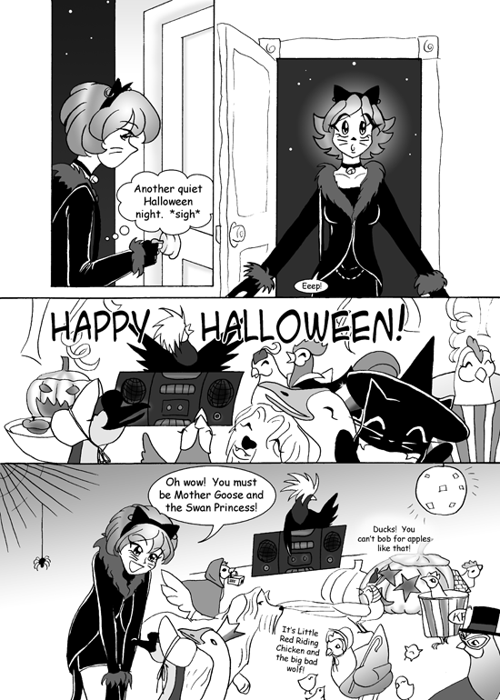 Happy Halloween Comic, Page 4