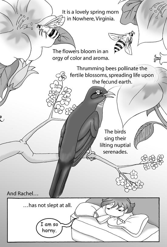 I Am Horny Comic, Page 1