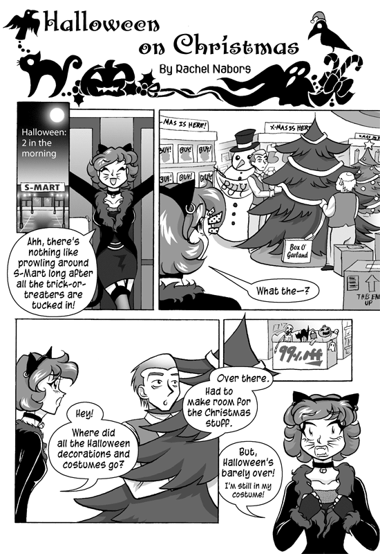 Halloween on Christmas, Page 1