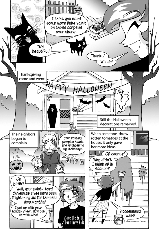 Halloween on Christmas, Page 4