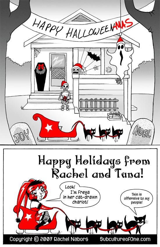 Halloween on Christmas, Page 6