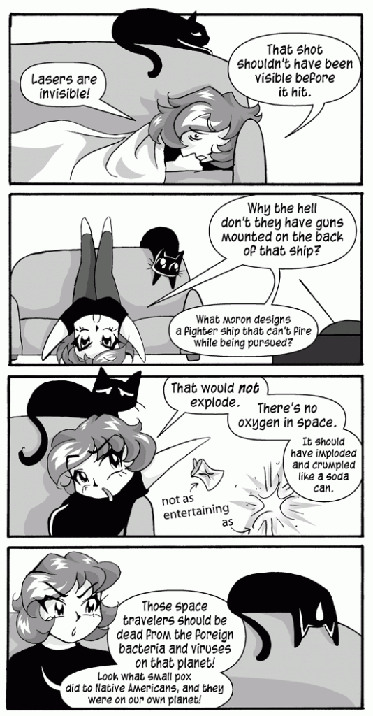 Watching Science Fiction with Rachel the Great, Page 2