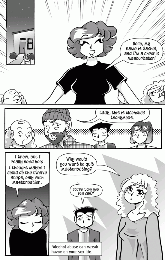 Masturbators Anonymous, Page 4