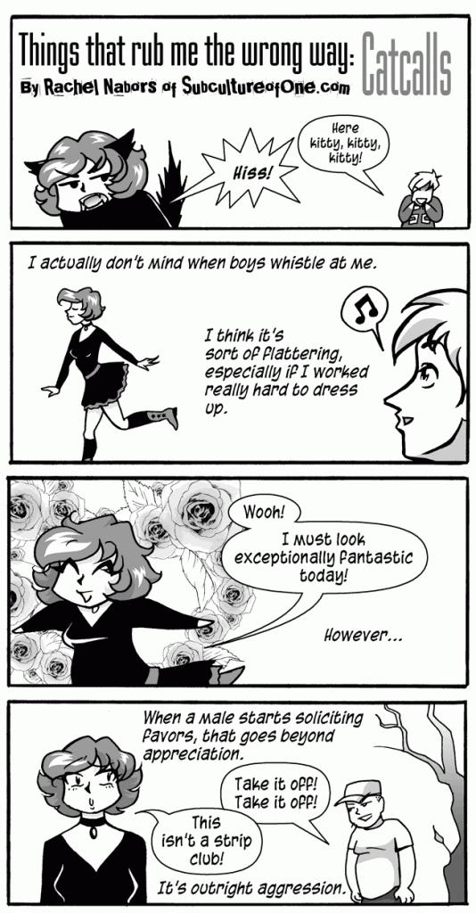 Cat Calls, Page 1