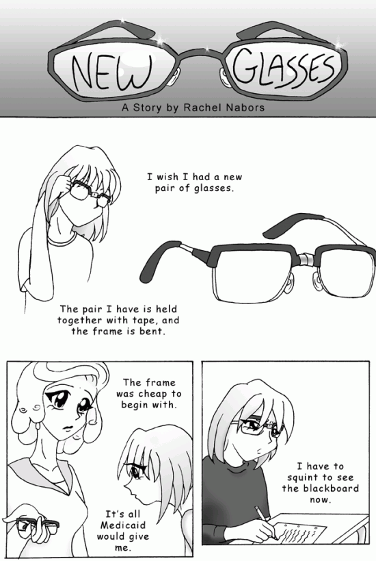 New Glasses, Page 1